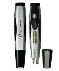 3-in1 Multi-Tool, Screwdriver, Level & LED Flashlight