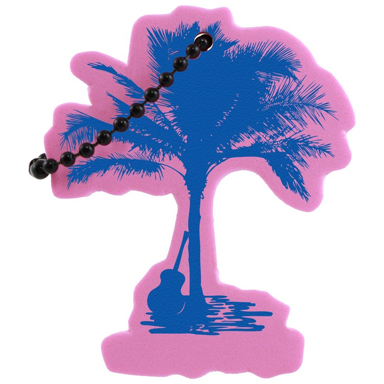 Palm Tree Key Tag - Palm Tree Key Tag