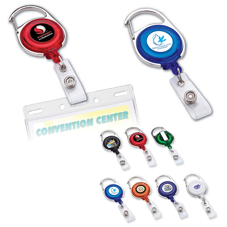 Brand Gear™ Magic Retractable Badge Holder
