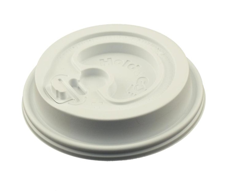24 oz. Hot/Cold White Insulated Paper Cup Lid