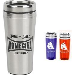 16 oz Acrylic Tumbler with Stainless Steel Liner