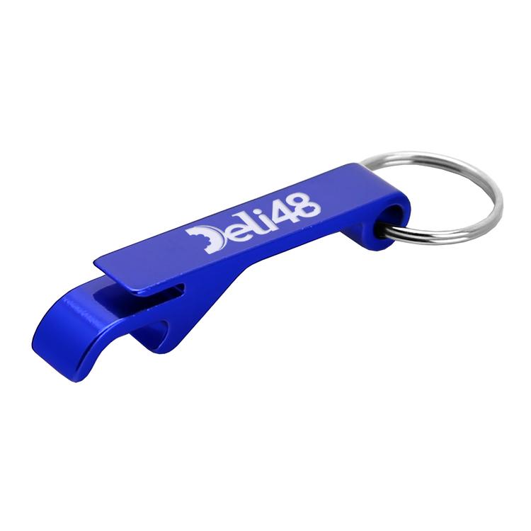 Aluminum Beverage Opener and Key Ring