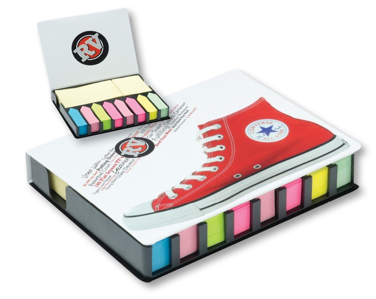Full color Wrap Imprint Sticky Note Tray