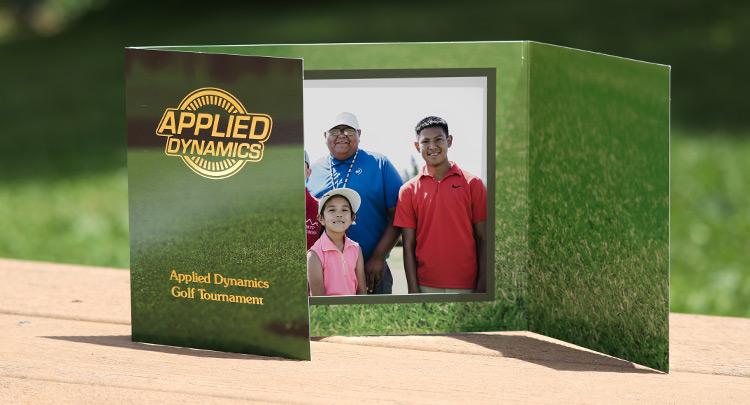 Golf photo folders from Warwick