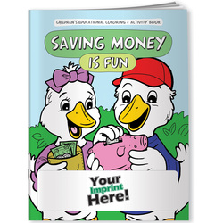 Finance, Saving Money is Fun - Coloring Book