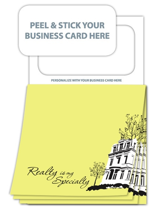 Magnetic Sticky Pad- Stock Realty (20 Sheet)