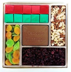 Large Chocolate Executive Centerpiece Box