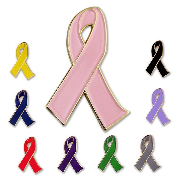 Awareness Ribbon Lapel PIns 3-D
