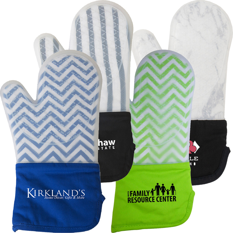 Frosted Silicone Oven Mitt - Promotional Products