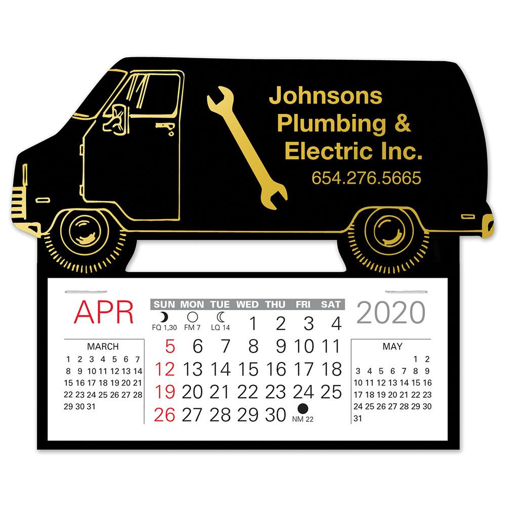 Easy Stick(TM) Calendar