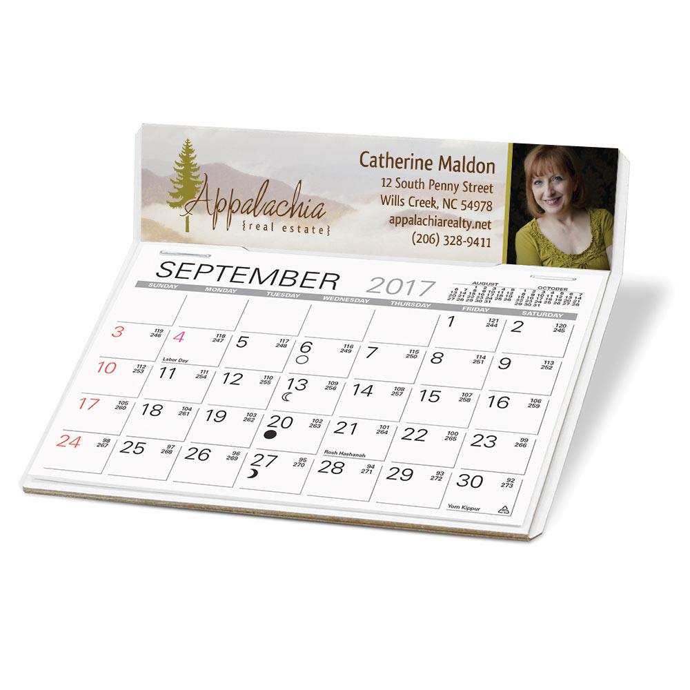 Promotional calendar case study for realtors