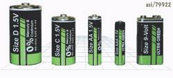 Battery AAA size Printed