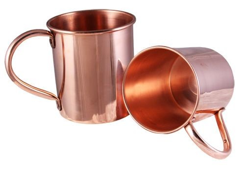 enlarge image - Copper Mule Mugs