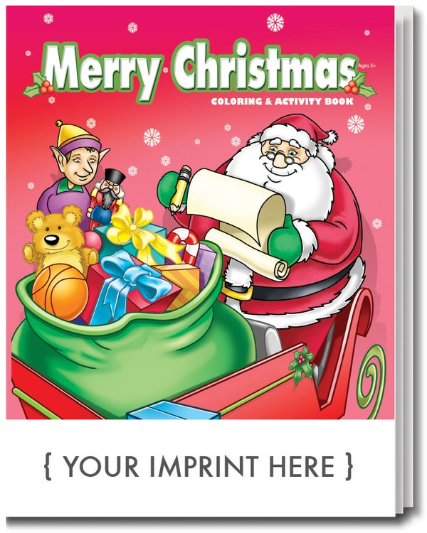 COLORING BOOK - Merry Christmas Coloring & Activity Book