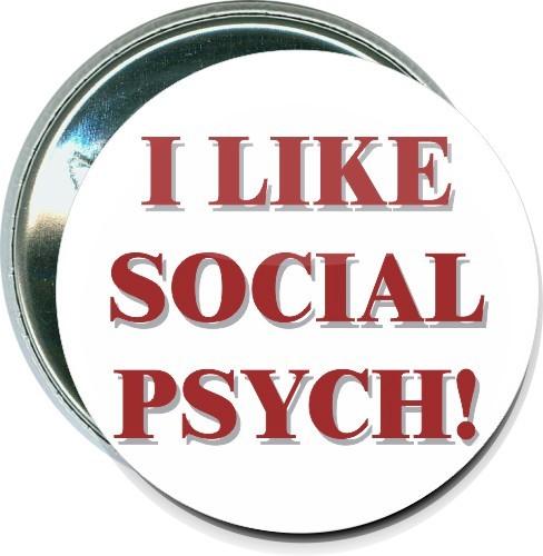 I Like Social Psych, School Button