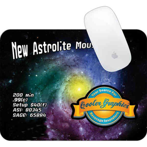 Astrolite - Foldable mousepad with an extra light