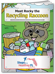 Coloring Book - Meet Rocky the Recycling Raccoon - Activity and Coloring Book - Meet Rocky the Recycling Raccoon