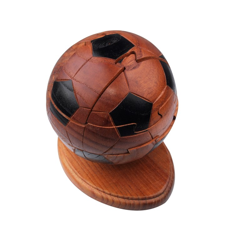 Soccer Ball Wooden Puzzle