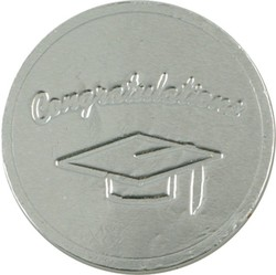 Graduation Hat Chocolate Coin