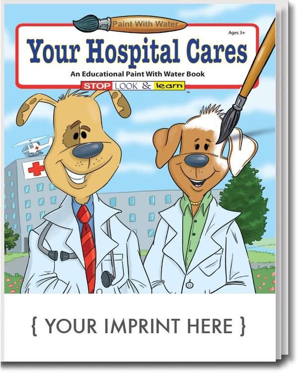 PAINT WITH WATER - Your Hospital Cares Paint with Water Book