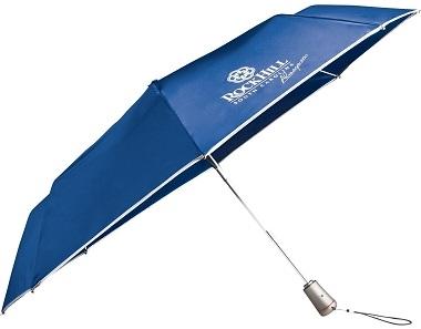 Totes® Titan 44 Inch Mini 3-Section Auto Open/Close Umbrella CLEARANCE