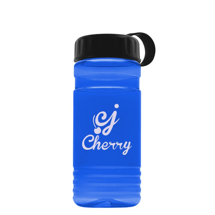 20 oz. Tritan Bottle with Tethered Lid