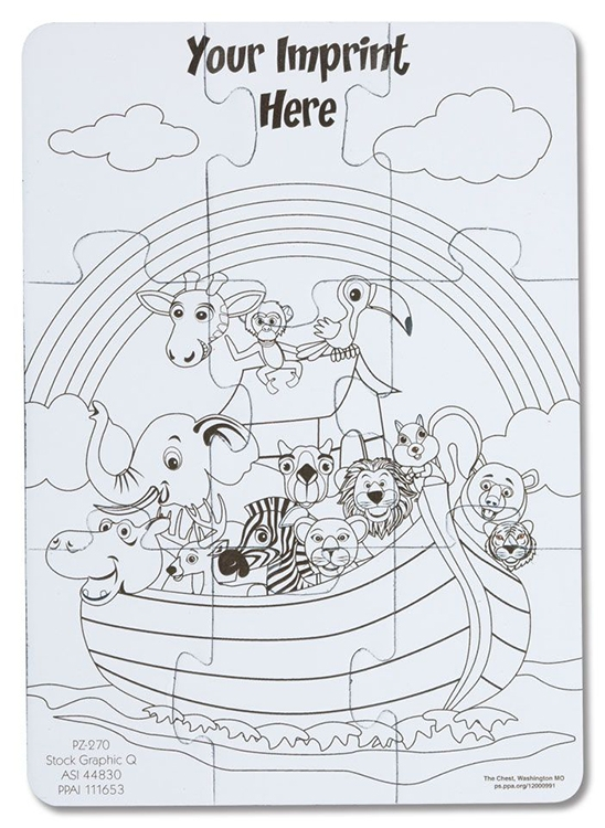 Coloring Puzzles | Product Catalog | The Chest