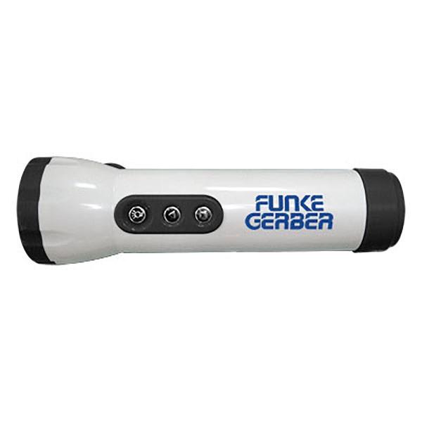 FM Scanner Radio LED Flashlight Combo