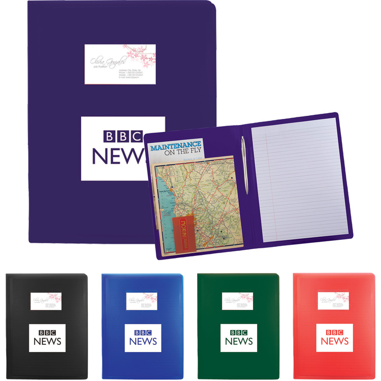 Vis-A-Folio with Pocket