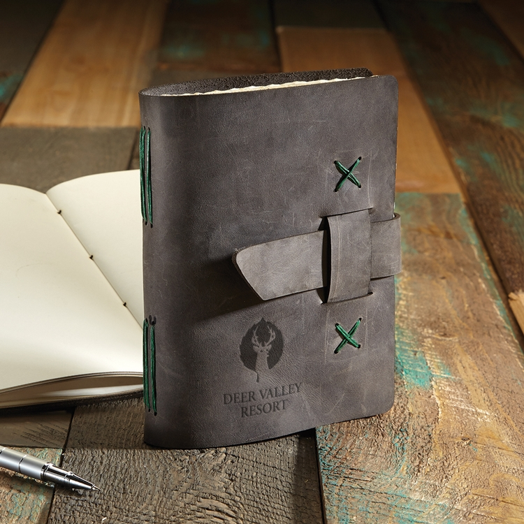 JOURNEYMAN Small Leather Journal