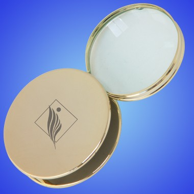 Gold Plated Brass Magnifier