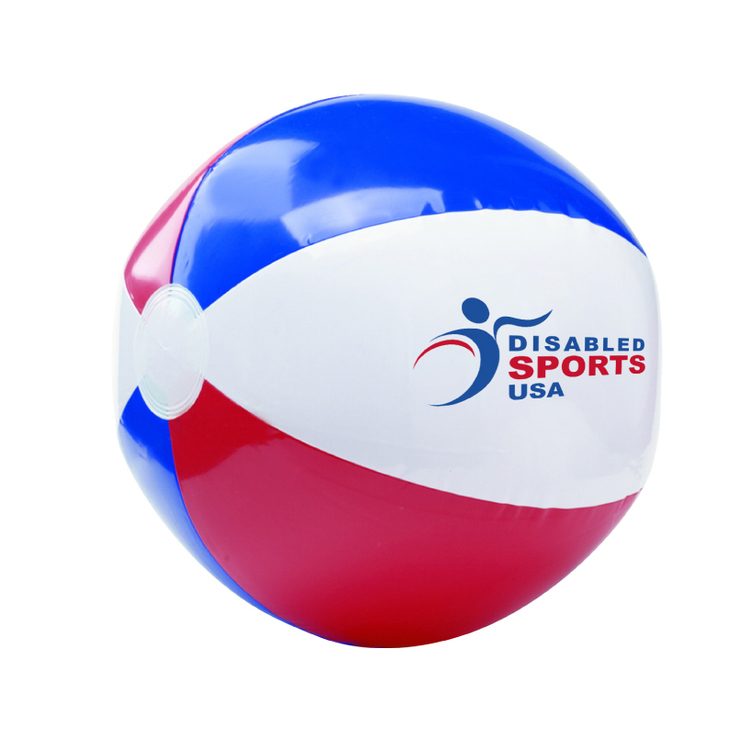 Red/White/Blue Beach Ball Inflate