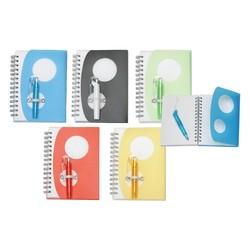 Soft Case Notepad w/Matching Flip Pen Set