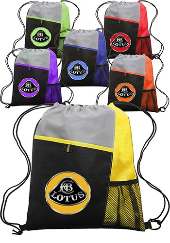 Non-Woven Drawstring Backpack - 13 W x 15 H