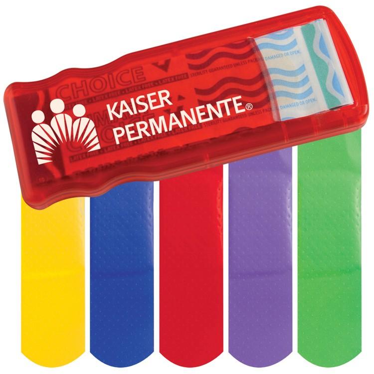 Bandage Dispenser W/ Color Bandages