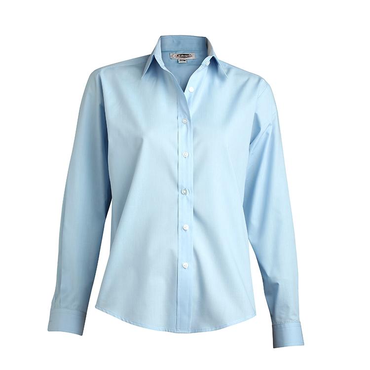 d83daeec EDWARDS LADIES' LONG SLEEVE VALUE BROADCLOTH SHIRT - 5363   KB Smartwear