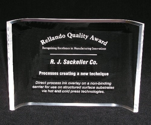 Majesty 5 Acrylic Crescent Award