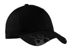 Port Authority - Racing Cap with Flames.
