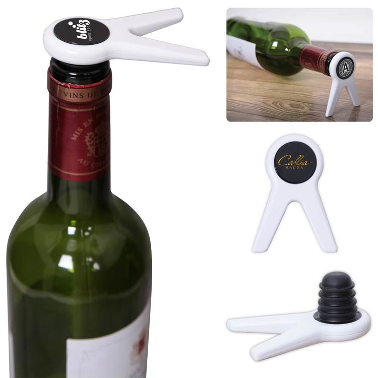 Standing Wine Bottle Stopper