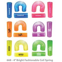 Translucent Tall Coil Spring , 4