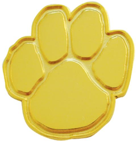 Gold Paw Pins