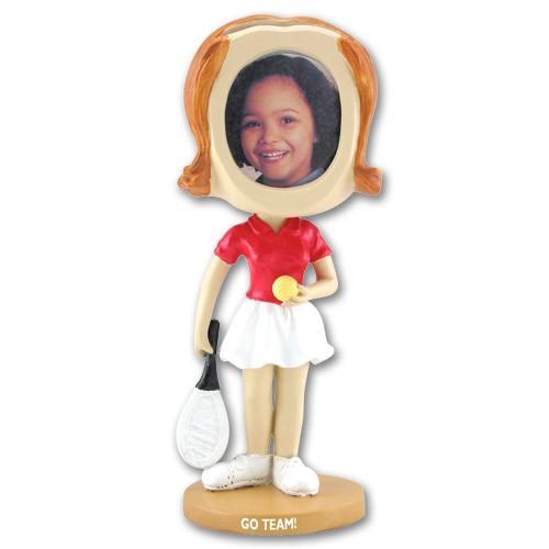 Girl\'s Tennis Bobblehead