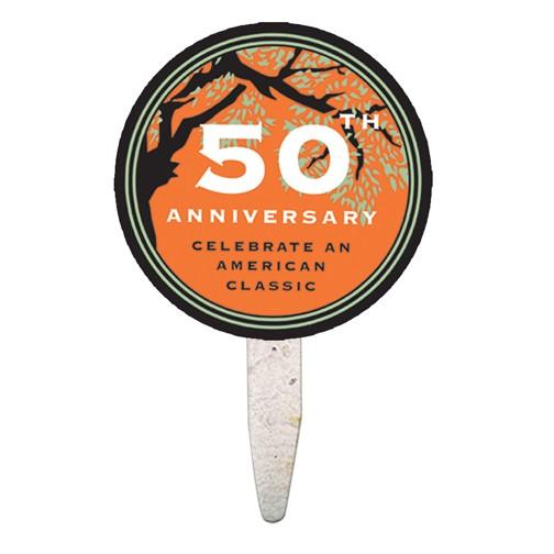 Round Mini Seed Stick Fan