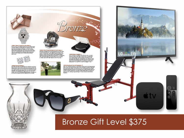 $375 Gift of Choice (Bronze Level) GoGreen eNumber