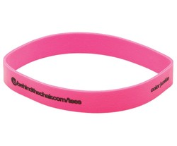 Printed Rubber Band 3 1/2 x 3/8