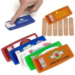 6 pc Bandage Dispenser (PhotoImage 4 Color)