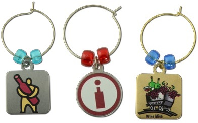 Custom Wine Charm - Digitally Printed