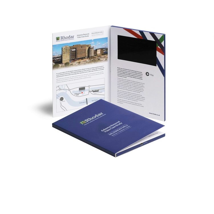 Custom 5.0 IPS Screen VIP Brochure/Video Mailer Card/Greeting Card/Gift Card