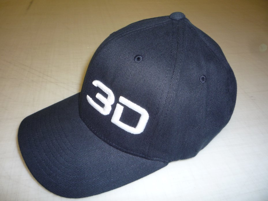 3D Embroidery on Flexfit Cap