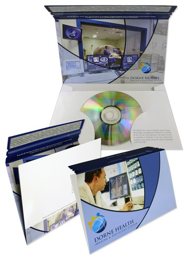 Disc Mailer with Peel & Seal Flap